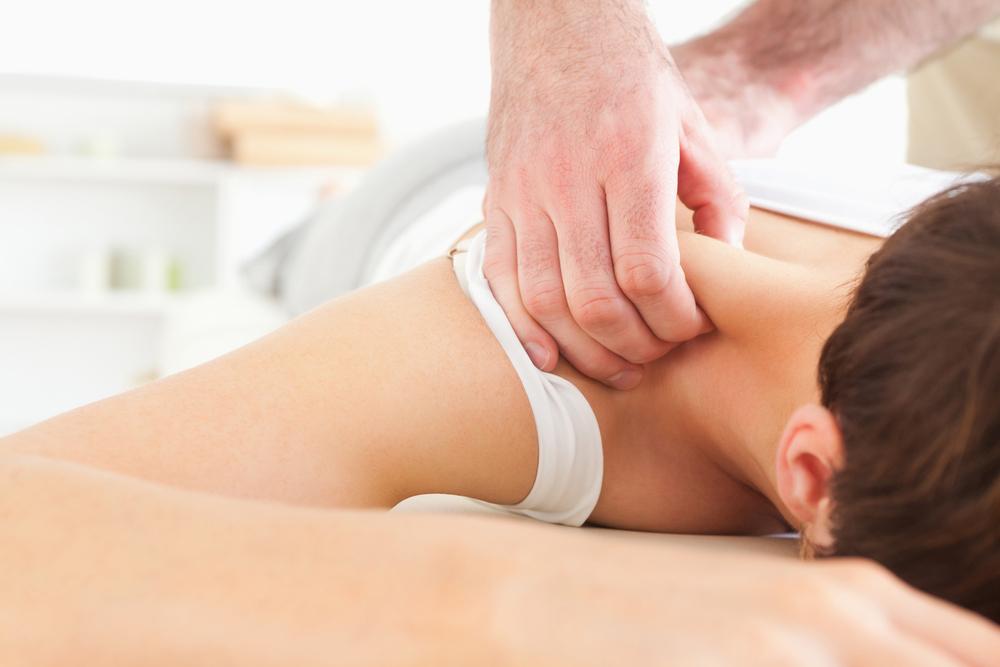 trapezius massage